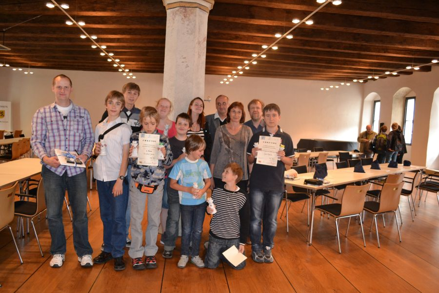 Die tschechischen Gäste aus unserer Partnerstadt Litoměřice.