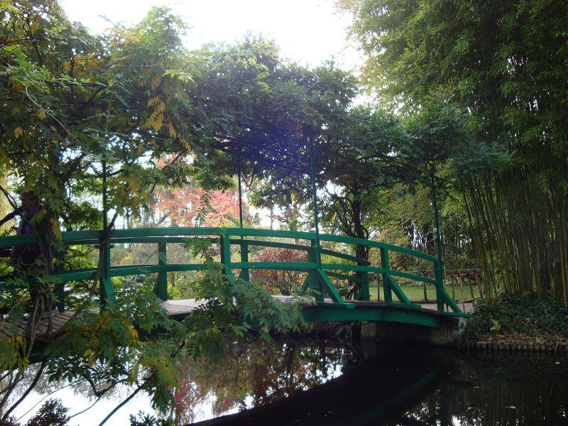 Brücke im Garten Giverny