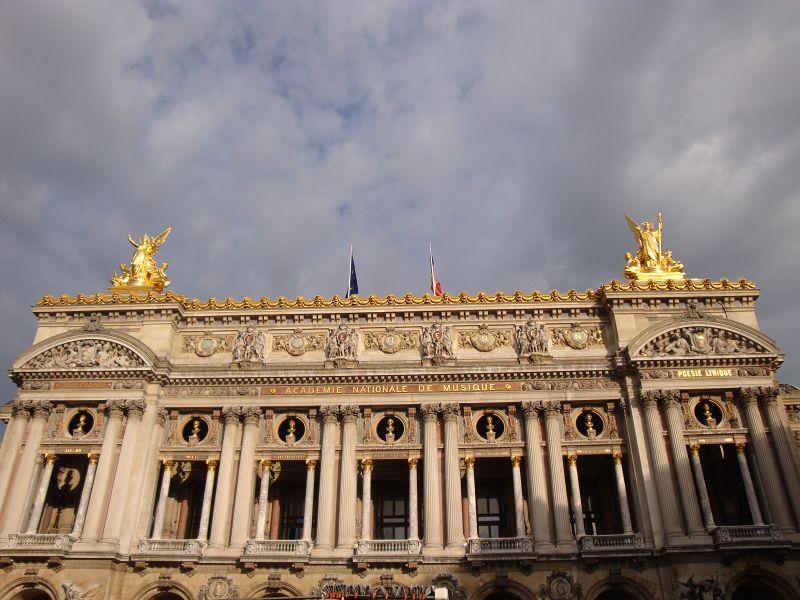 Fronansicht der Opera Garnier